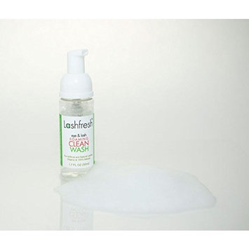 Lashfresh Foaming Eye & Lash Clean Wash for Eyelash Extensions and Natural Lashes 50ml