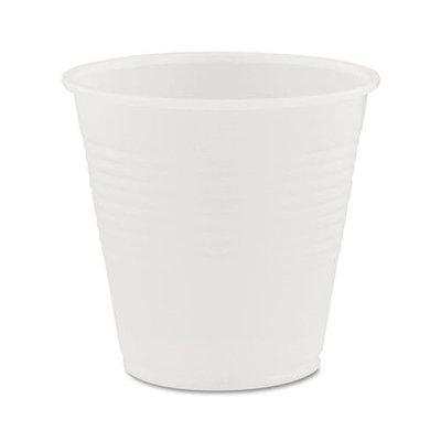 Dart Conex Translucent Plastic Cold Cups, 5oz, 2500/Carton
