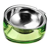 Free-Free Industrial NPA3SB4-1-41A-Jade 5.5 in. Oblik Superb Pet Bowl Jade