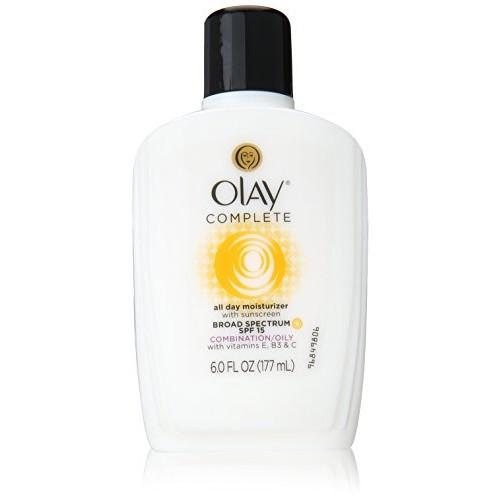 OLAY Complete All Day UV Moisturizer SPF 15 Combination/Oily 6oz Each
