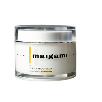 Maigami Luxury Hair Mask Repair Dry And Damaged Hair, Sulfate Free Treatment, Amazing For Color Treated Hair And All Hair Types - 6.7 oz (Apricot)
