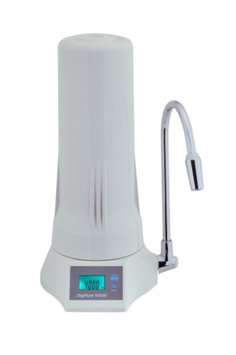 Anchor 5 stage Countertop Water Filer with LCD display-White