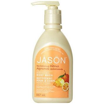 Pack of 1 x Jason Satin Shower Body Wash Citrus - 30 fl oz by Jason Natural