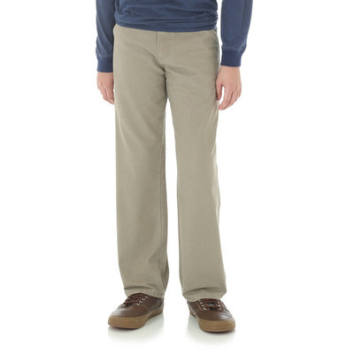 Rustler Boys' 5 Pocket Relaxed Straight Fit Utility Jean