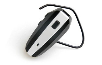 NoiseHush N500-10114 White / Black Bluetooth Headset
