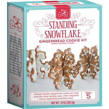 Brand Castle Holiday 2017 In Stores - Snowflake Gingerbread Cookie Kit