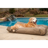 O'donnell Industries Snoozer Waterproof Lounger Pet Bed - Rectangular / Large / Gunmetal