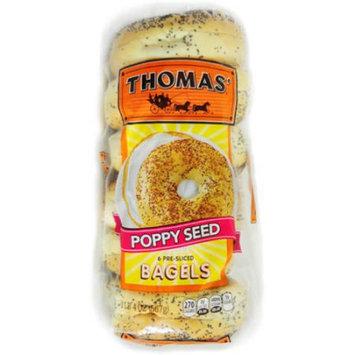 Thomas' Poppy Seed Bagels, 20oz, 6 pk.