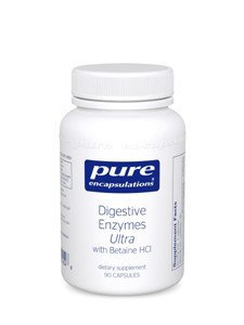 Pure Encapsulations - Digestive Enzymes Ultra with Betaine HCI - 90 Capsules