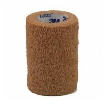 3M 2083 Coban LF Elastic Wrap Bandage, Latex Free, 3 X 5 Yd Roll