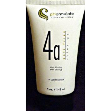 pHormulate Color Care System 4a Anti-frizz Shine Gel UV color shield, 5 oz