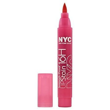 NYC Smooch Proof 16 Hour Lip Stain - Persistent Pink by NYC