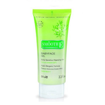 Smooth E Babyface Gel Extra Senstive Cleansing Gel 99ml