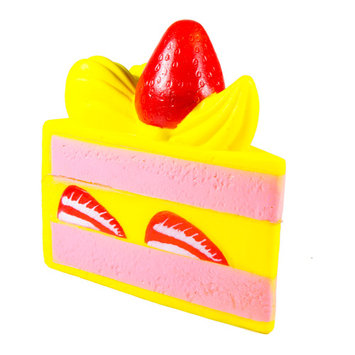 Slow Rising New Brand SquishyFun Scented Strawberry Short Cake With Nice Package - Strawberry