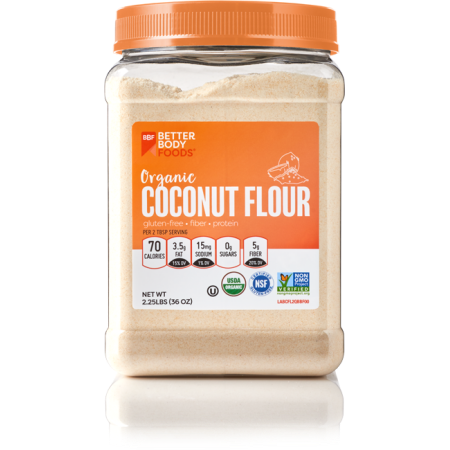 Better Body Foods BETTERBODY FOODS ORGANIC COCONUT FLOUR 36 OZ.