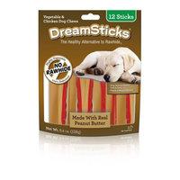 Dreambone Dreamsticks Peanut Butter, 12-Pack