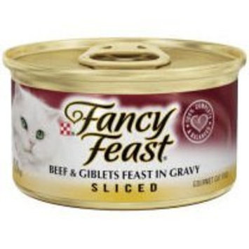 Fancy Feast Canned Sliced Beef and Giblets for Cats