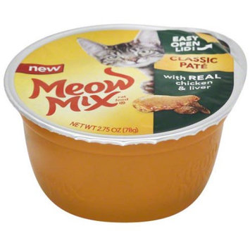 Meow Mix® Classic Pate Cat Food - Chicken and Liver size: 2.75 Oz