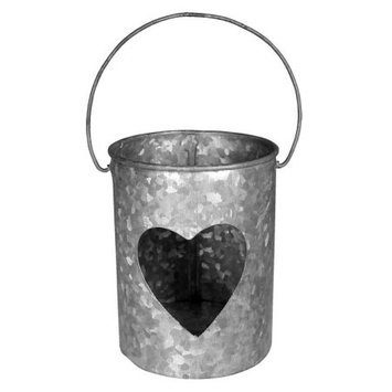 Amber Home Goods Single Heart Candle Votive