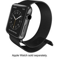 X-Doria - Watch Strap for Apple Watch 42mm - Charcoal