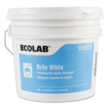 Ecolab Powdered Laundry Detergents Brite White Powder Laundry