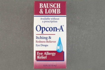 Opcon-A Antihistamine Eye Drops, 0.5 oz. Drop
