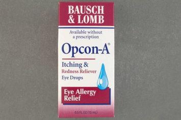 Opcon-A Antihistamine Eye Drops, 0.5 oz. Drop