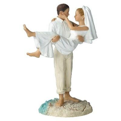 Beach Wedding Figurine-Cauc