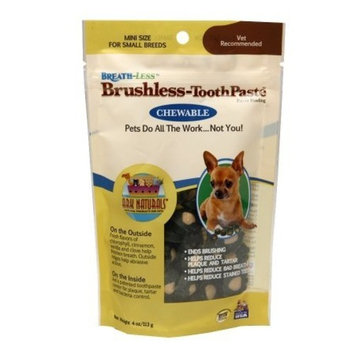 Ark Naturals Breath-Less Brushless-ToothPaste Small Breeds 4.0 oz.(PACK OF 2) by Ark Lighting