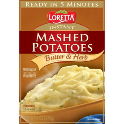 Loretta Instant Mashed Potatoes - Herb and Butter Flavor