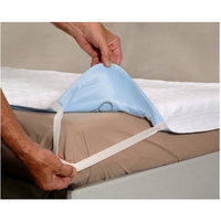 Essential Medical Quik Sorb Deluxe Underpad with Tucks