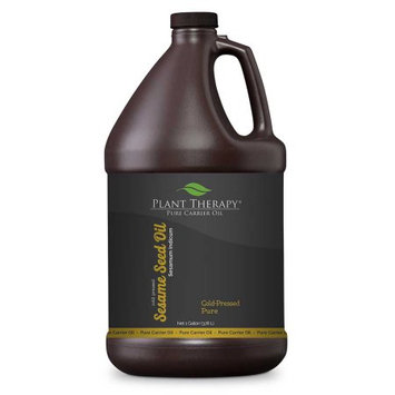 Plant Therapy Sesame Seed Cold-Pressed Pure Carrier Oil 1 gal.