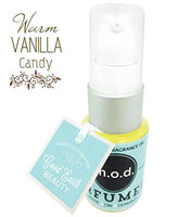 Warm Vanilla Candy Perfume Natural By Mod for Good Earth Beauty