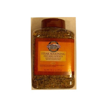 Farmer Brothers Steak Seasoning with no MSG 1lb 12 oz Large Restaurant/Food Service Size Container