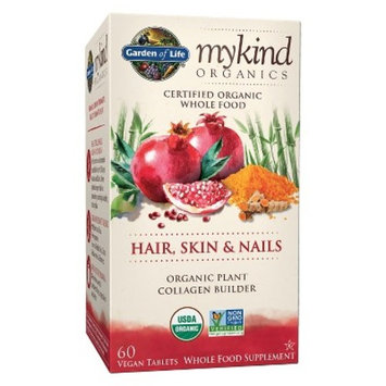 Garden of Life My Kind Organics Hair, Skin & Nails Dietary Supplement Tablets - 60ct