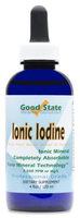 Good State Liquid Ionic Iodine - 4 Drops Equals 500 Mcg Per Serving - 600 Total Servings - 4 Ounces