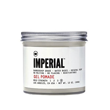 Imperial Barber Grade Products Gel Pomade 12 Oz [12 oz]