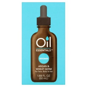 Emilia Personal Care Oil Essentials Replenish Argan & Wheat Germ Beauty Oil, 1.69 fl oz