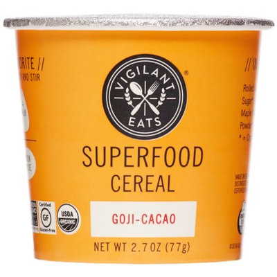 Vigilant Eats Organic Superfood Cereal Goji-Cacao - 2.7 oz