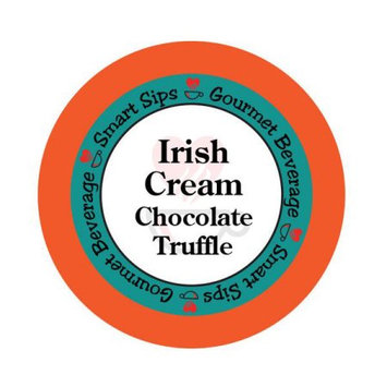 Smart Sips COFICCHOTR24 Irish Cream Chocolate Truffle Gourmet Coffee for All Keurig K-cup Machines 24 Count