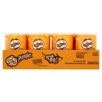 Continental Concession Pringles Potato Chips - Pack of 12