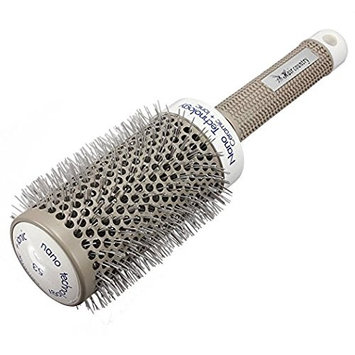 XIDAJE Barber Nano Thermal Ceramic & Ionic Round Barrel Hair Brush Comb, for Hair Drying, Styling, Curling, Adding Hair Volume