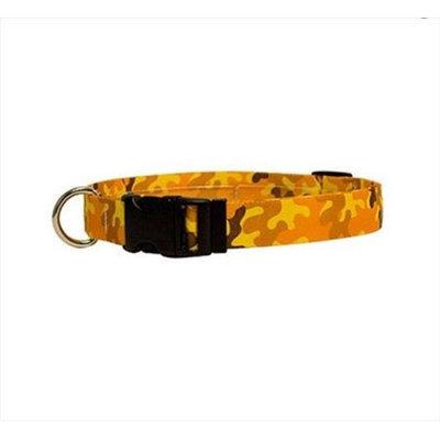 Yellow Dog Design CMO100XS Orange Camo Standard Collar - Extra Small