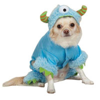 Casual Canine Monster Paws Pet Costume - Blue XS