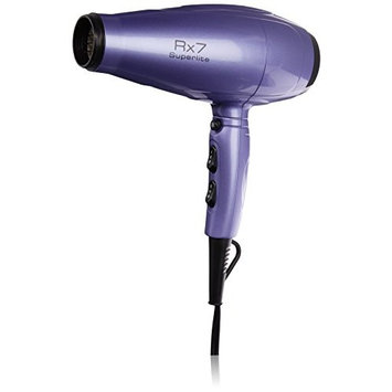 RX7 Superlite Advanced Nano Ionic Dryer Hair Blow Dryer with Infrared Heat Technology, Purple/Black