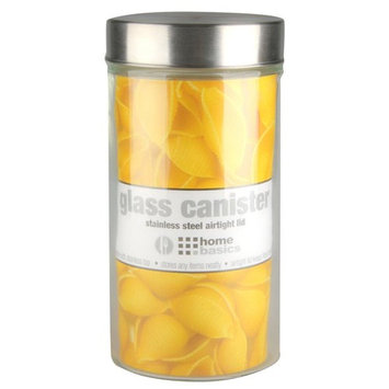 54 oz. Large Round Glass Canister