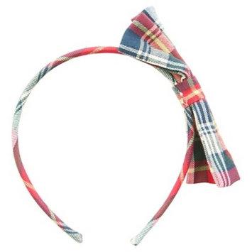 Remington Girls Plaid Headband with Bow 1 ct