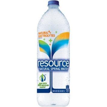 Resource Water Natural Spring Water - 33.8 oz - 12 ct