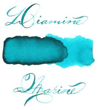 Pk/18 DIAMINE Fountain Pen Ink Cartridges, MARINE