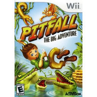 Pitfall: The Big Adventure - [Nintendo Wii] - Used